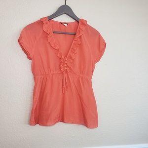 JCrew silk blouse size 2 petite
